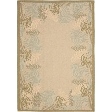 11 x 14 outdoor rug safavieh courtyard green 8 ft x 11 ft indoor outdoor area rug cy7945 14a18 8 the home