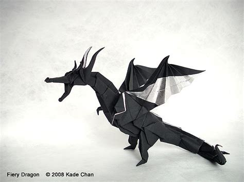 How To Make An Origami Fiery - kade chan origami 香港摺紙工作室 日誌 fiery