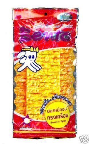 Thailand Bento Squid Seafood Snack bento squid seafood snack thai original chili