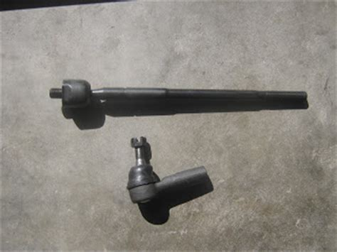diy inner outer tie rod corolla 98 02 toyota
