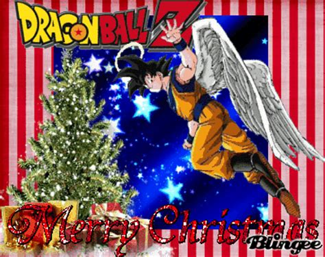 dragon ball  christmas picture  blingeecom