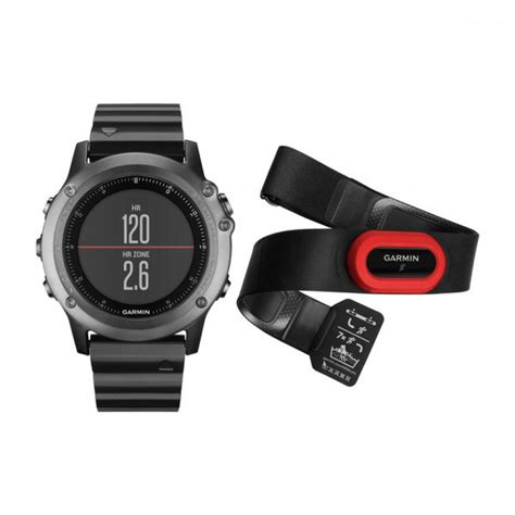 Jam Tangan Gps Garmin Fenix 3 Hr jam tangan garmin fenix 3 sapphire gray with metal band performer bundle geo multi digital