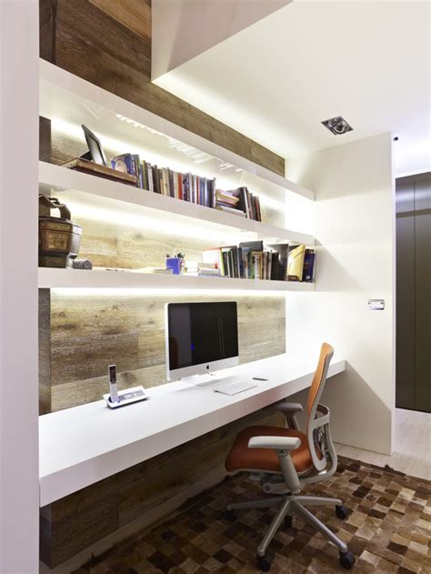 Home Office Ideas With Bookshelves 16 Charming Home Office Ideas