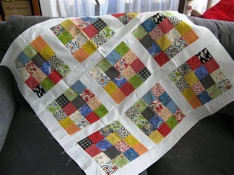 Jelly Roll Quilt Tutorials by A Bit Of Kaos Jelly Roll Baby Quilt Tutorial