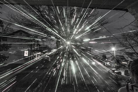 shower laser light white shower black and white