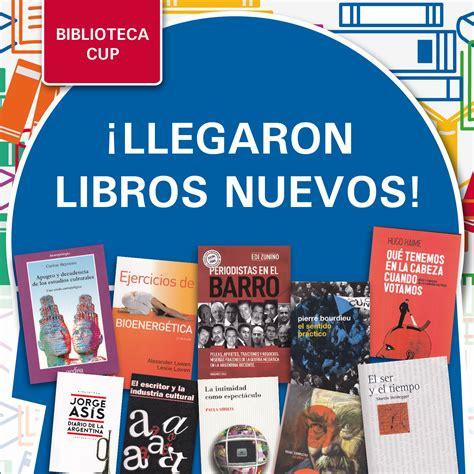 nuevos libros en biblioteca