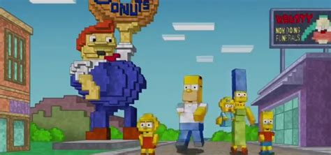 simpsons minecraft couch gag the simpsons make minecraft couch gag