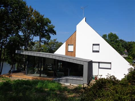 terrasse le ossature bois bardage terrasse bois 224 suc 233 sur erdre