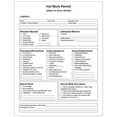 work permit template free work permit template free printable works