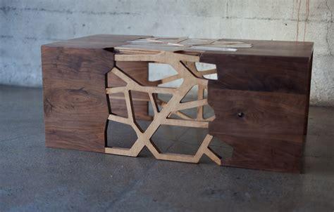 design milk table branching table by gradient matter design milk