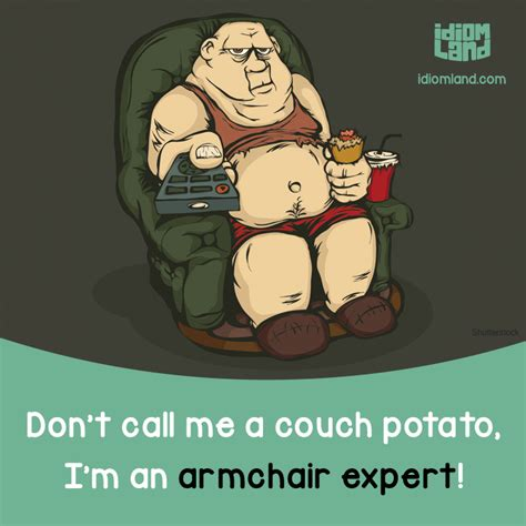 armchair expert don t call me a couch potato i m an armchair expert
