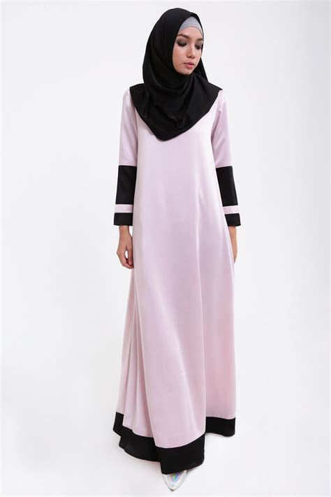 Gamis Wanita Katun Abu Simple I3s4c5 baju gamis remaja bahan kaos newdirections us