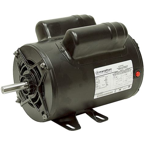 2 hp 115 230 3450 rpm marathon air compressor motor marathon brands www surpluscenter