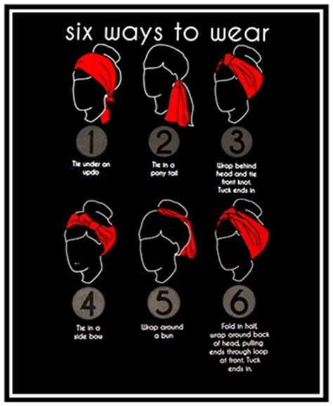 different ways to wear a bandana with short hair how to create a hairstyle with a bandana pretty designs