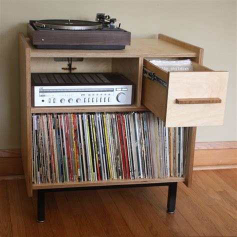 record player storage records storage record collection pinterest storage
