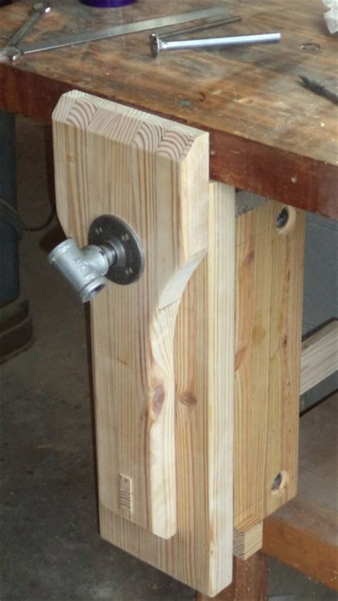 best woodworking bench vice retrofitted leg vise by fr bailey osb