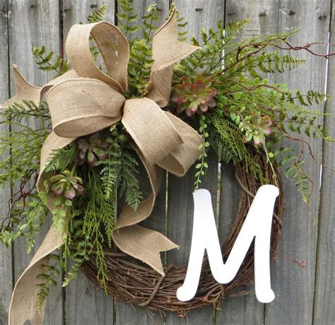 Letter Wreaths For Door by 25 Best Ideas About Letter Door Wreaths On