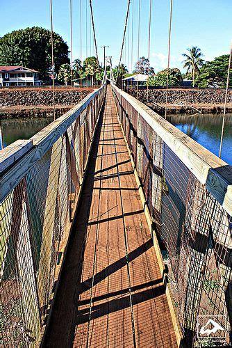 swinging bridge kauai kauai hawaii kauai and bridges on pinterest