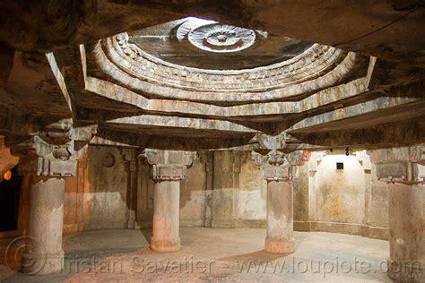 Interior Pillars prison gwalior fort india