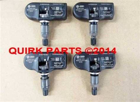 tire pressure monitoring 2010 volkswagen passat electronic toll collection vw volkswagen tire pressure sensor tpms set of 4 genuine oem new jetta passat ebay