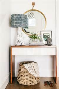 Mirror Hallway Table 11 Tips For Styling Your Entryway Table