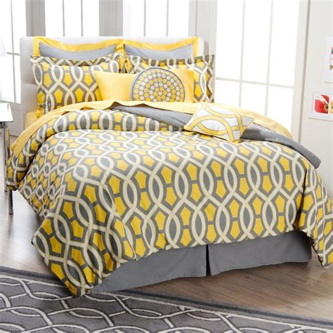 Yellow And Grey Bed Sets 35 Best Images About Yellow And Grey Bedding On Pinterest Sheets Bedding Bedding Sets And Grey