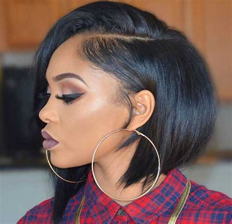 bob hairstyles on black hair 15 black with hair hairstyles 2017