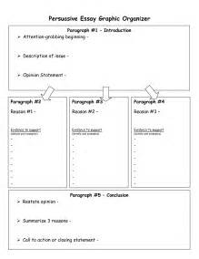 Essay Graphic Organizer Template by Graphic Organizers For Writing Persuasive Essays