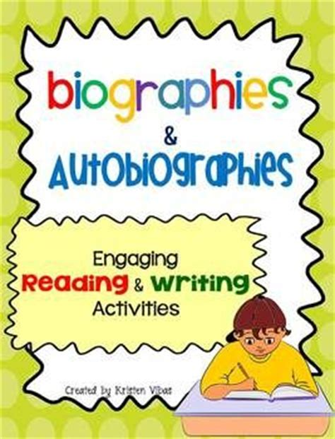 characteristics of biography and autobiography 67 best images about autobiographies on pinterest about