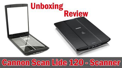 Canoscan Lide 120 Diskon canoscan scanner lide 120 unboxing