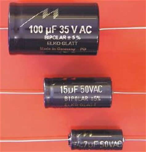 bipolar capacitor for audio soundlabs mundorf
