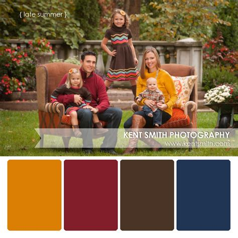 family color fall family photo color schemes www imgkid the