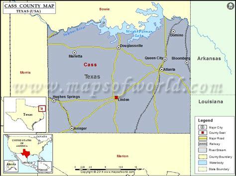cass county texas map cass county map map of cass county texas
