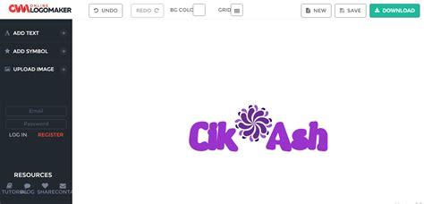 buat tulisan melengkung online webiste untuk buat logo tulisan cantik cik ash