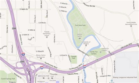 southcenter mall map tukwila park city parks recreation
