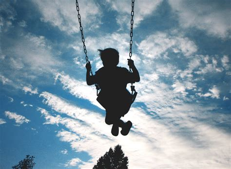 free swinging video swinging in the sky both boys were swinging but he won