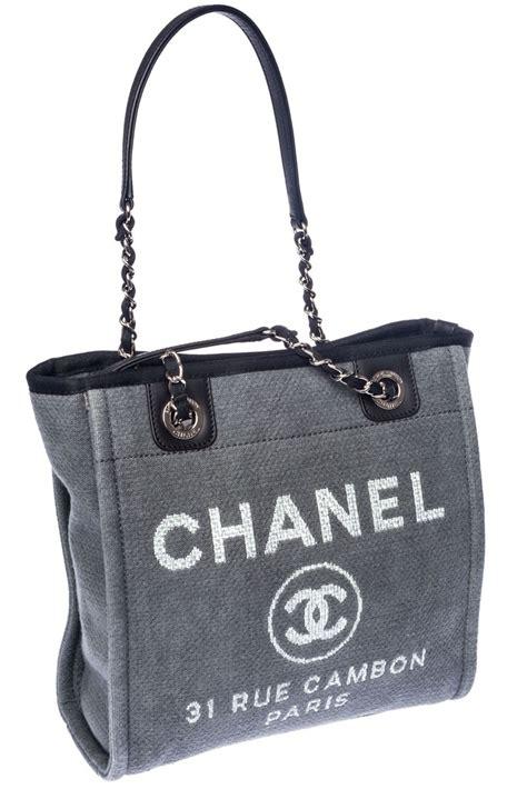 Tas Chanel Rue Cambon chanel tasche grau rue cambon wie neu ebay