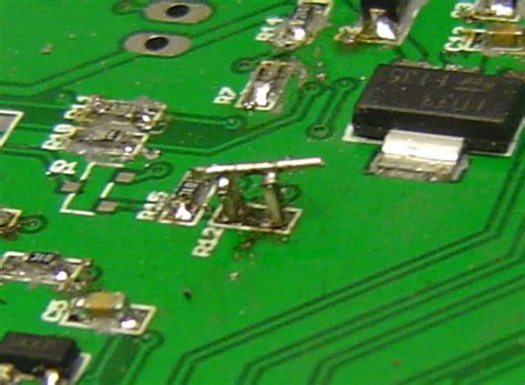 how to solder resistor in series three classic fixes for smd pcb mishaps