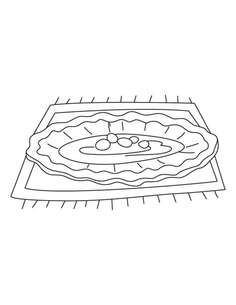 dinner plate coloring page download free dinner plate