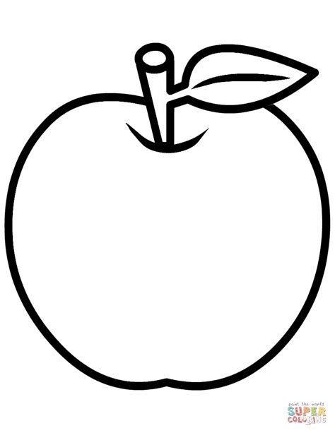 apple colors apple coloring page free printable coloring pages
