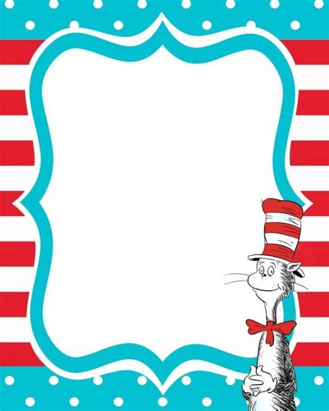 free dr seuss invitation templates dr seuss free printable invitation templates