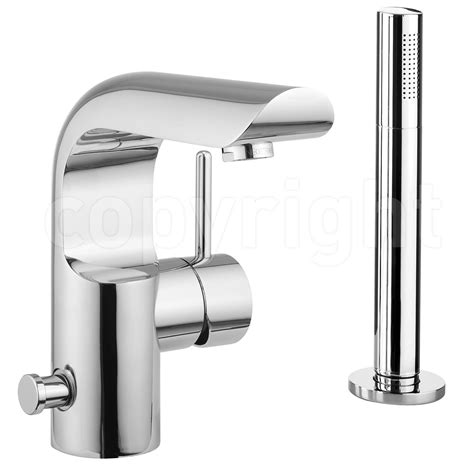 Crosswater Elite Monobloc Bath Shower Mixer Tap With Kit Bathroom Shower Mixer Taps