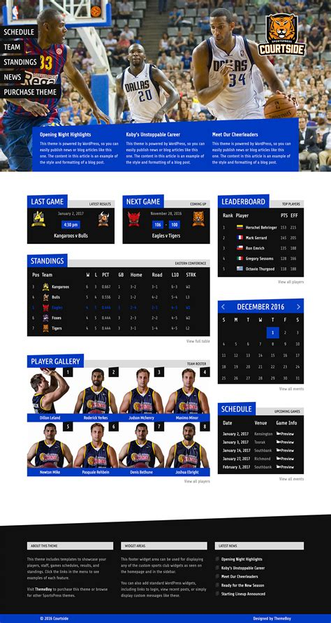 theme launch blog how to launch a basketball website with courtside themeboy