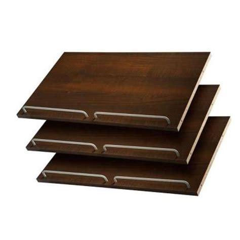 bookshelves for shoes martha stewart living 24 in espresso shoe shelves 3 pack