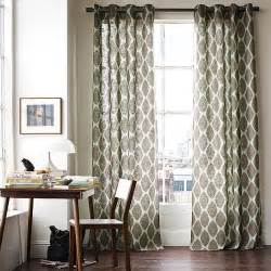 Patterned Curtains Living Room Modern Furniture 2014 New Modern Living Room Curtain