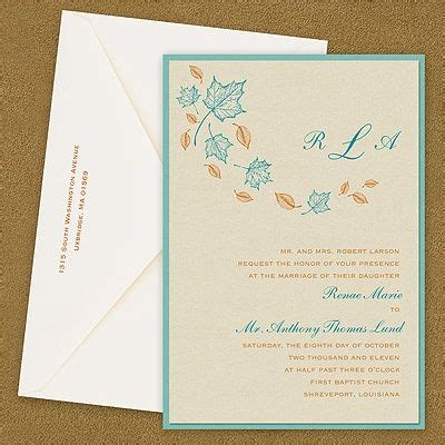 Wedding Invitation Design Classes by 61 Best Fall Wedding Invitations Images On