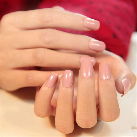 design nail cover new 2014 office lady elegant 3 colors solid natural square