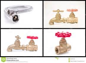 How To Repair Kitchen Faucet plumbing tools and materials royalty free stock image