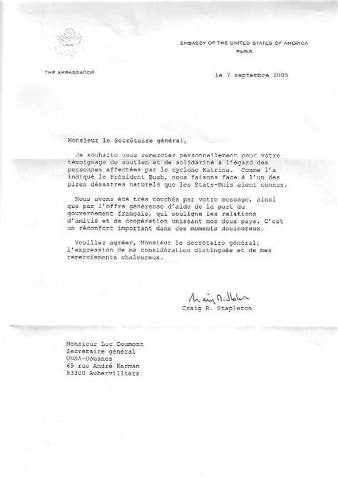 Lettre De Stage Professionnel Gratuit Exemple De Lettre De Remerciement Suite 224 Un Stage Covering Letter Exle