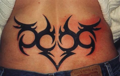 tribal tramp stamp by rockentattoos321 on deviantart